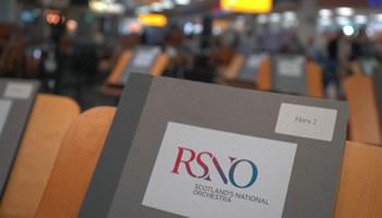 Daryl Cockburn Filmmmaker Camera Operator Editor Director RSNO Glasgow Airport